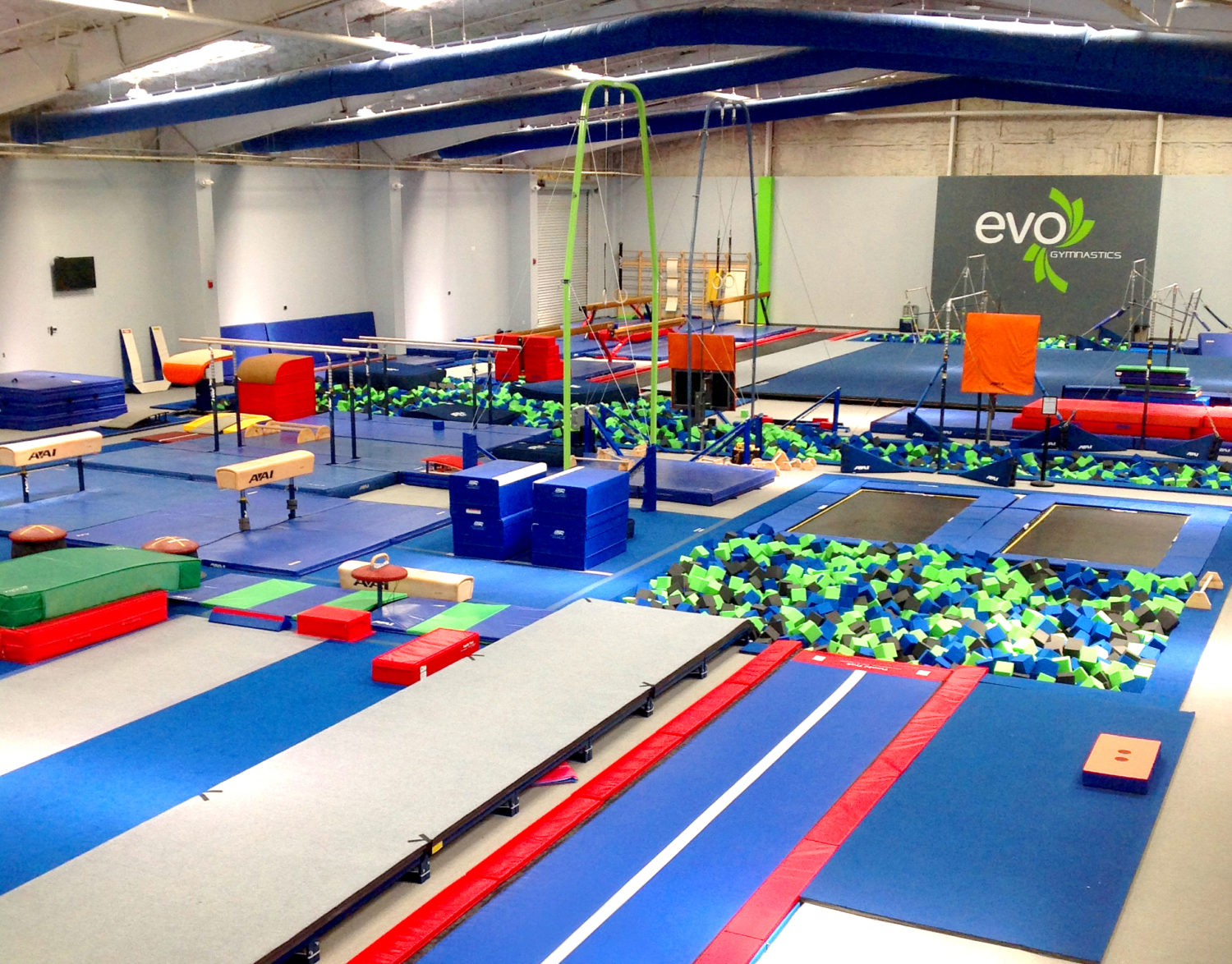 Evo athletics open gym
