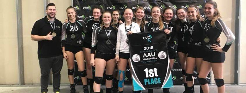 EVO AAU Kick Off Classic Winning Team