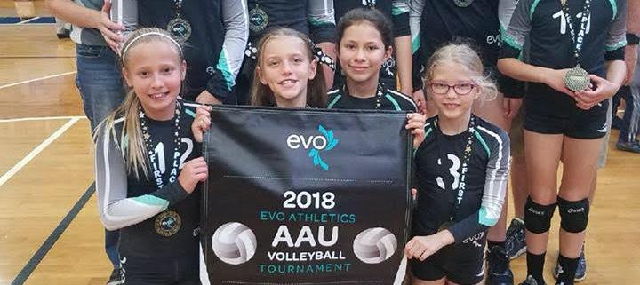 AAU EVO Kick Off Classic Winning Team