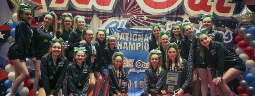 EVO Cheerleaders win National Championship